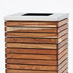 AT03H - timber clad trash bin