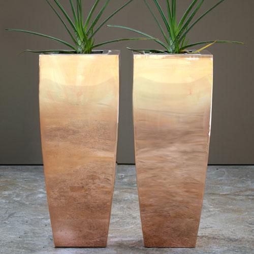 Genial A Range Copper Planters